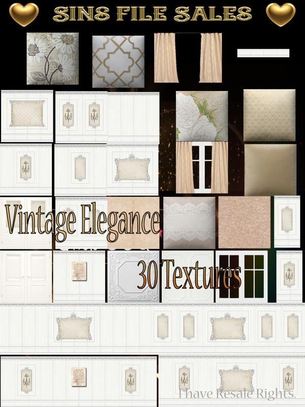 Vintage Elegance Texture Pack