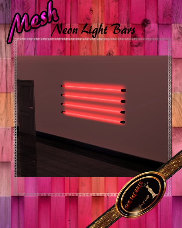 •Neon Light Tubes/Wall Lights•CHKN File