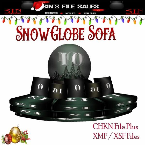 Snowglobe Sofa Set * Mesh