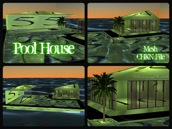Pool House Mesh (CHKN File)