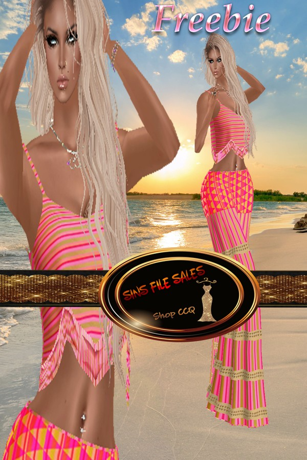 Freebie Summer Boho Full Outfit