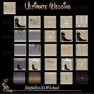 Ultimate Wedding (26 Textures)