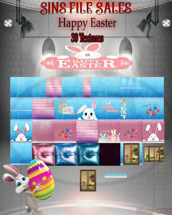 •Happy Easter Textures•