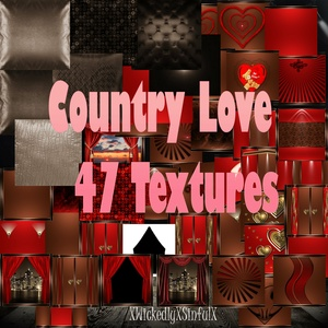 Country Love (47 Textures)