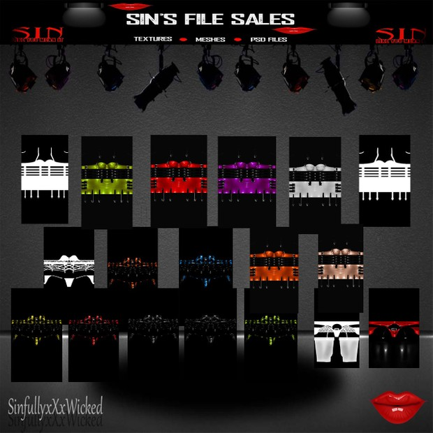 Clothing Bundle #3+ 3 PSD FIles ( 22 files/images in Total)