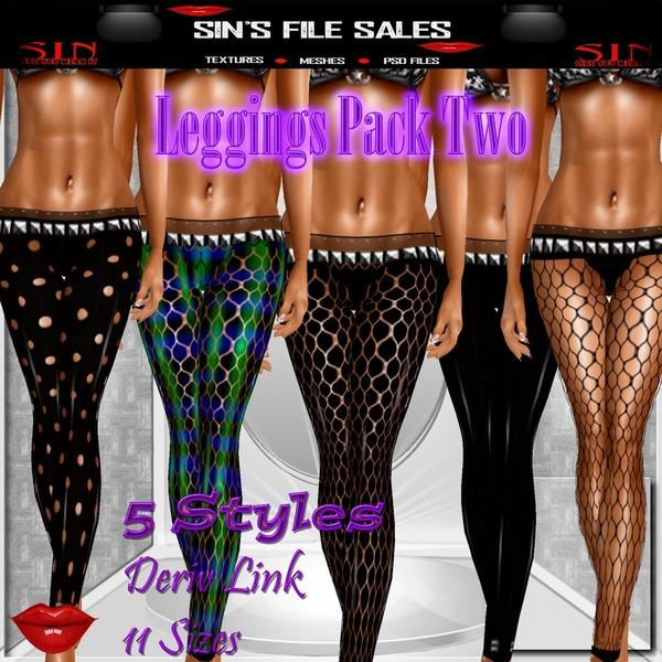 Leggings Pack Two