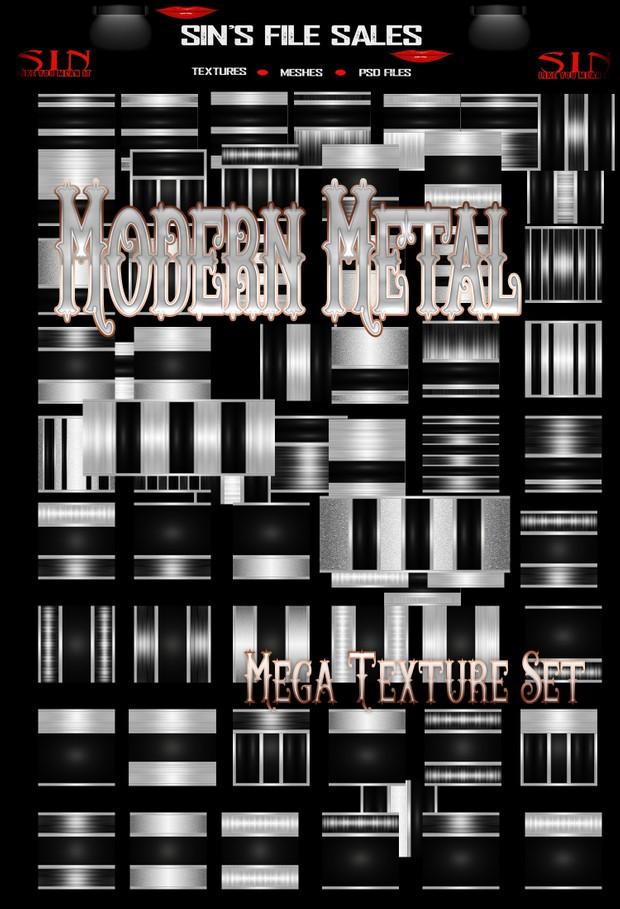 Modern Metal *70 Textures