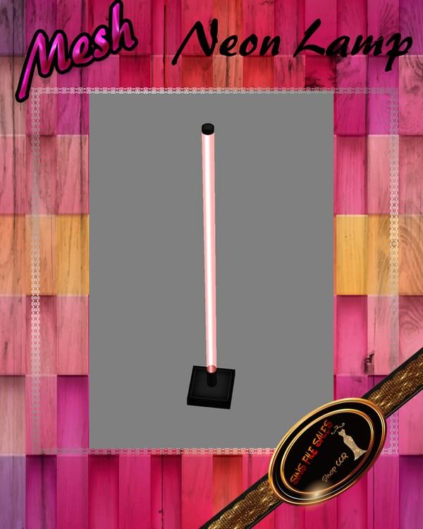 •Neon Lamp Mesh•CHKN File