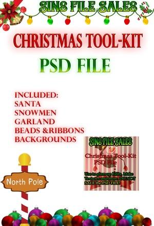 Christmas Tool-Kit-PSD File