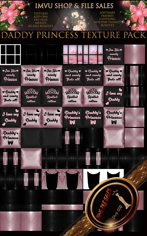 Daddys Princess Texture Pack