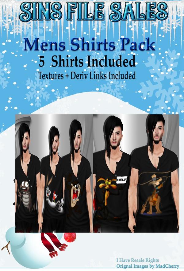 Mens Shirt Pack