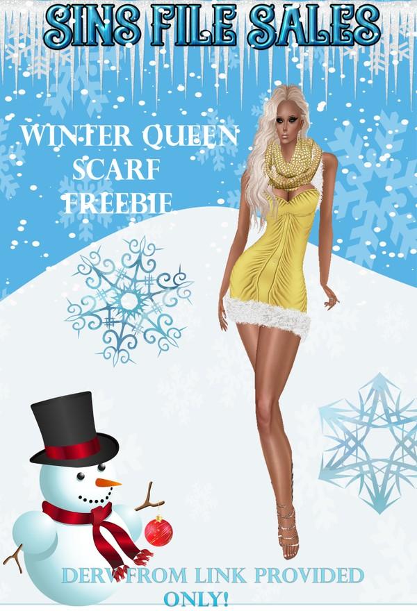 Winter Queen Scarf Freebie