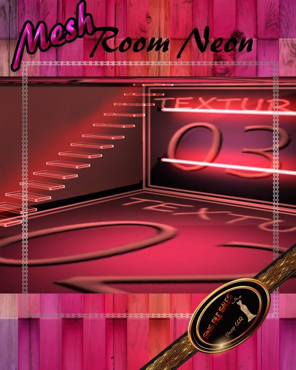 •Neon Room Mesh•CHKN