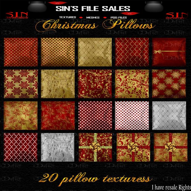 Christmas Pillow Pack