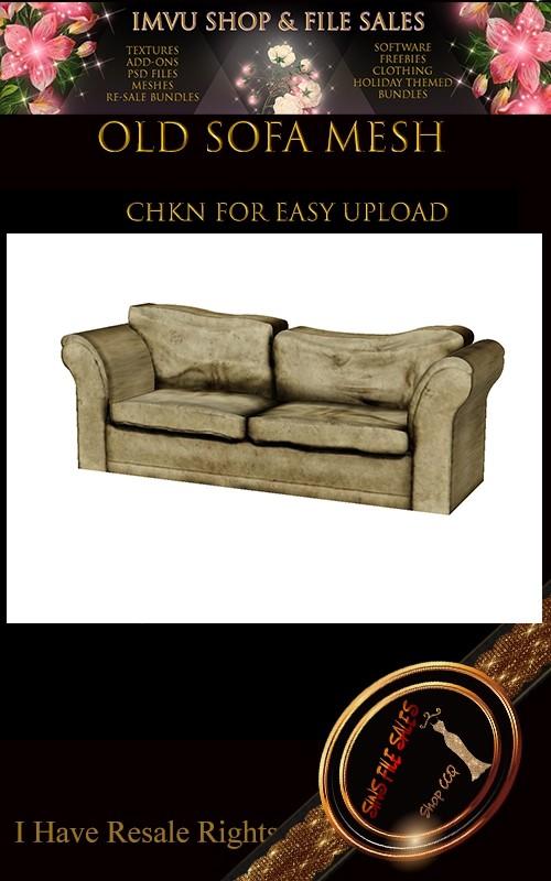 Old Sofa Mesh