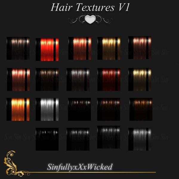 Hair Textures V1