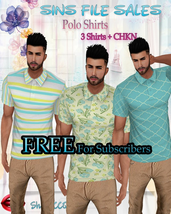 •Mens Polo Set• FREE(Conditions Apply)