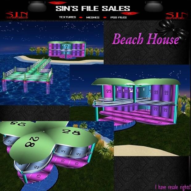 Mesh*Island+Beach House
