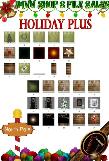 🎅Holiday Plus Texture Pack-30 Files 🎅