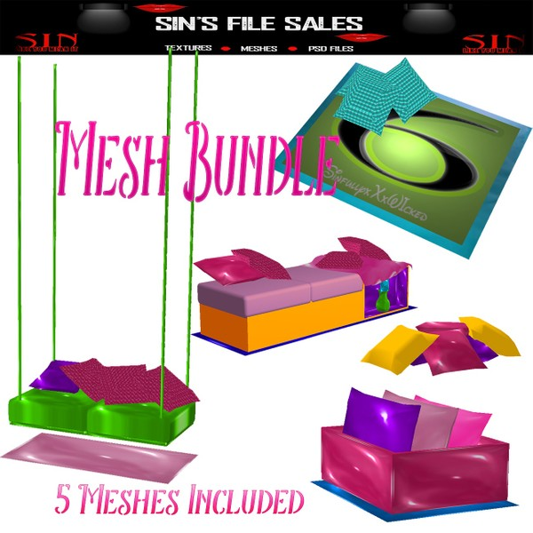Mesh Bundle * 5 Meshes