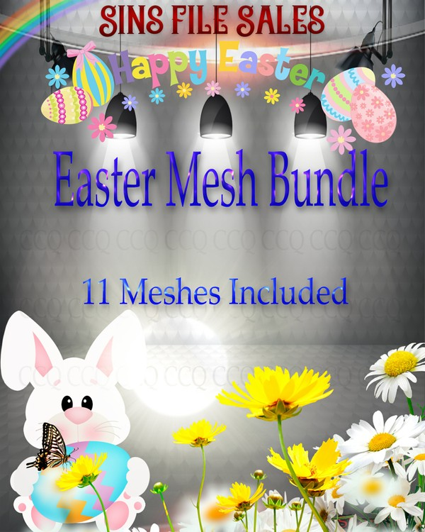 SALE-Price Drop🐰🐥 Easter Mesh Bundle 🐰🐥