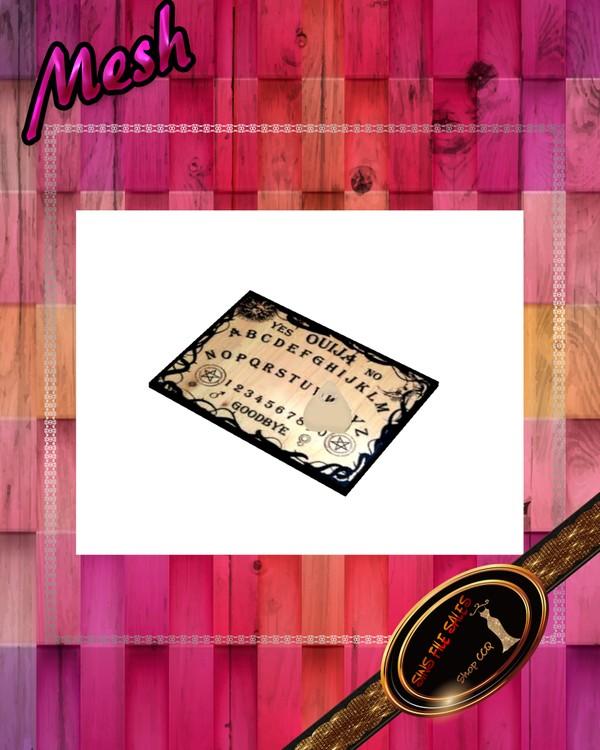 •Ouija Board mesh•CHKN