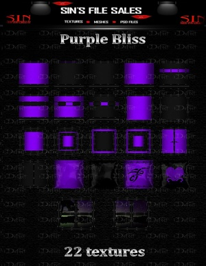 Purple Bliss Texture Pack