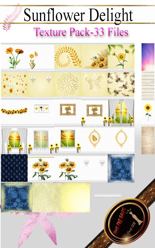 •Sunflower Delight Texture Pack•