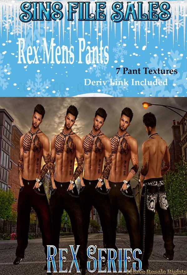 Rex Series Pants Male