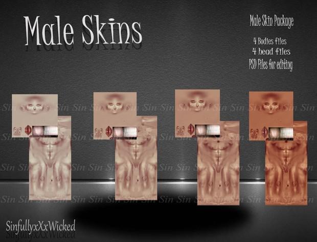 Male Skin *Model Skin Tones