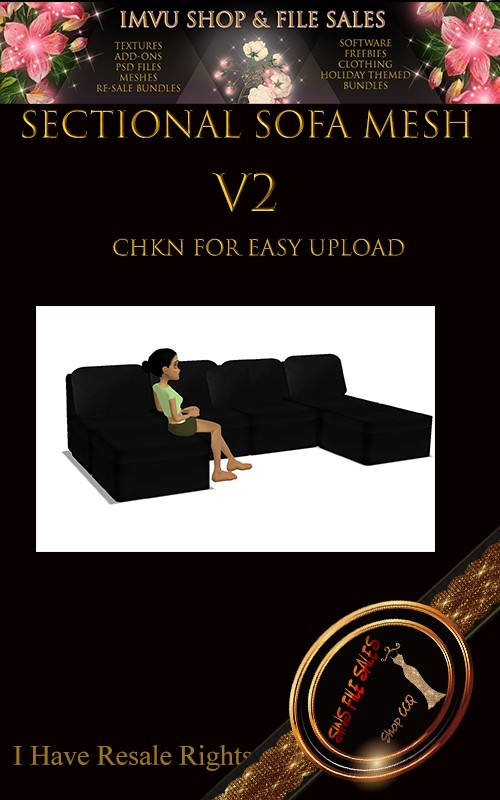 Sectional Couch Mesh V2