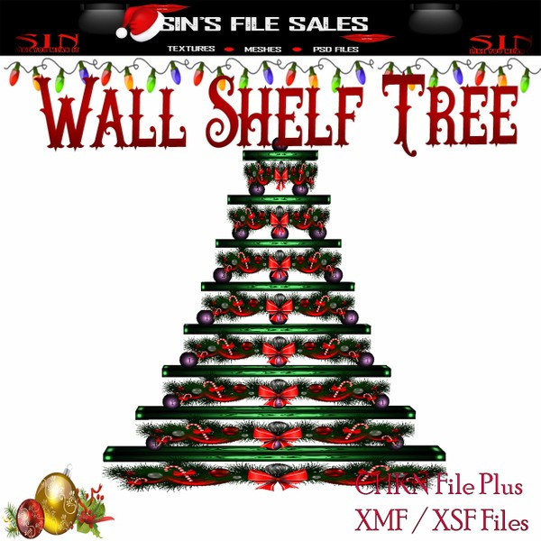 Wall Shelf Tree * Mesh