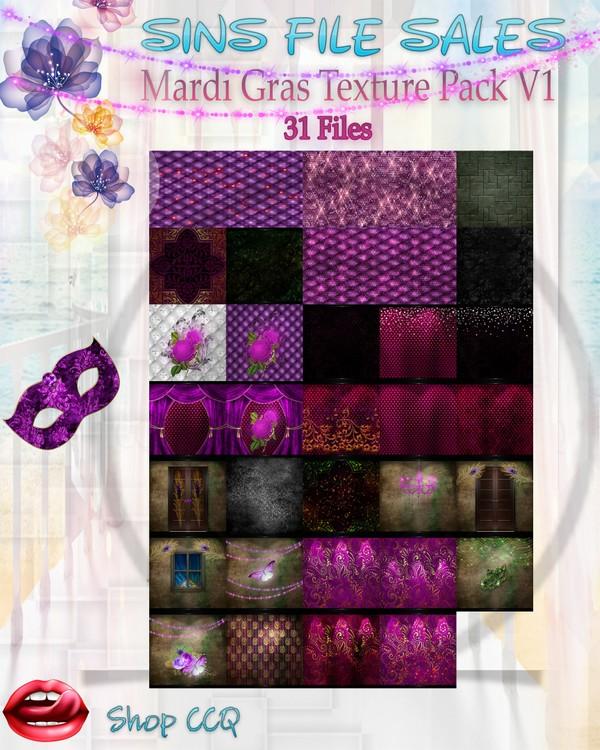 •Mardi Gras V1• Texture Pack