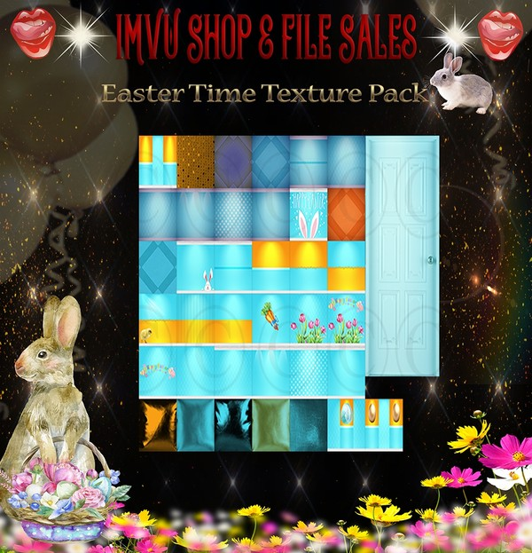 🐰 It's Easter-Texture Pack 🐰 38 Files