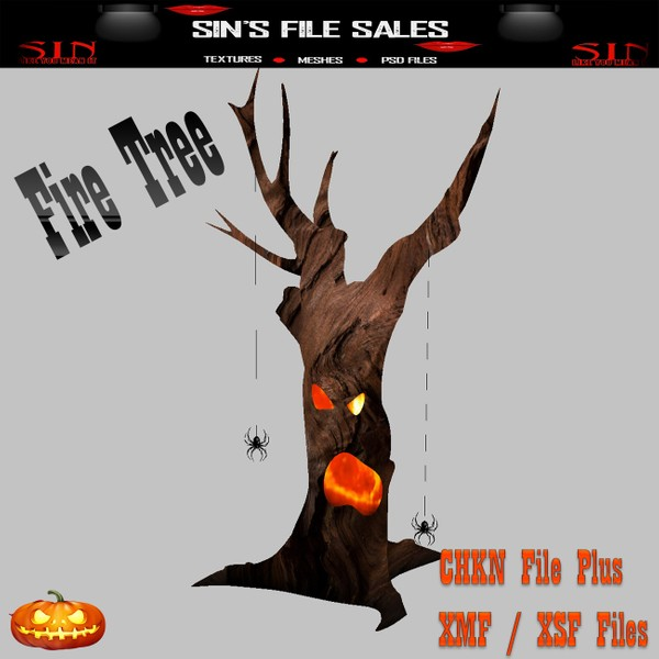 Fire Tree * Mesh