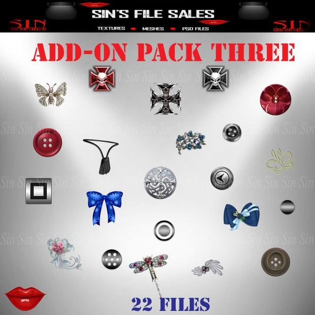 Add On Pack Three