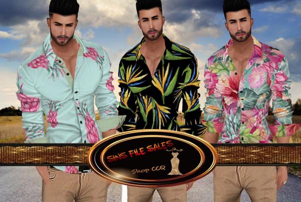 •Dawe Mens Summer Shirts• 3 Shirts Included + Derv Link