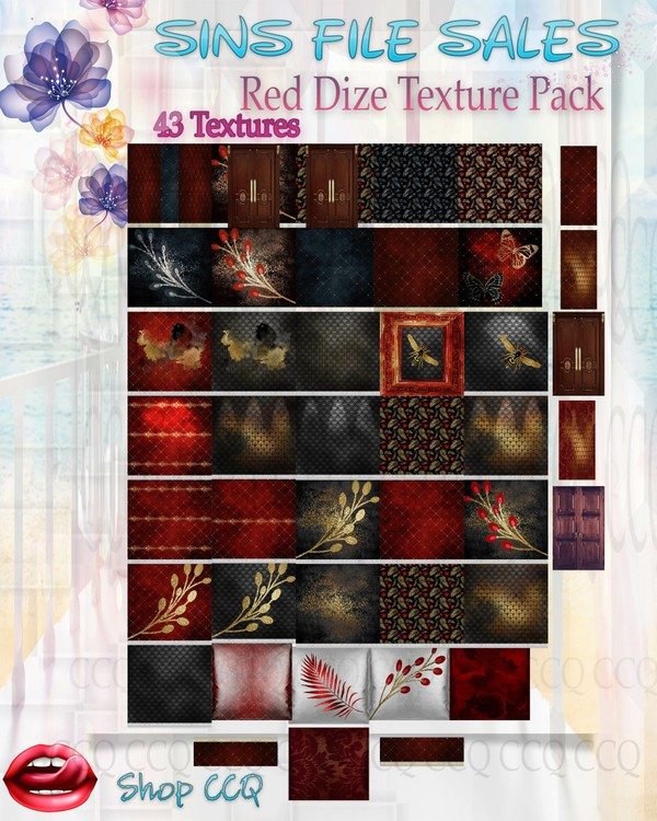 •Red Dize Texture Pack•