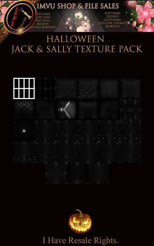 🎃Halloween- Webbed Texture Pack
