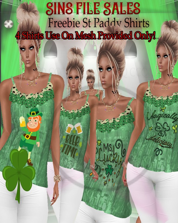 🍀Freebie🍀 St Paddy Shirts*CHKN