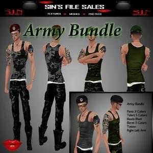 Army Bundle* Male