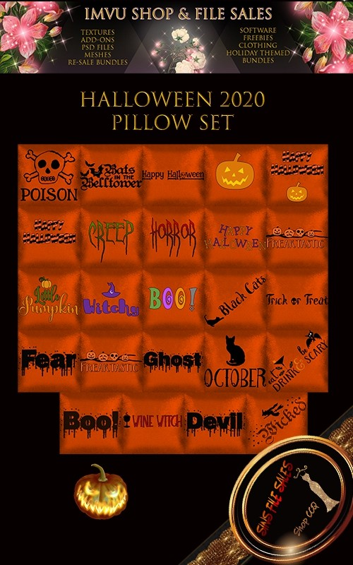 Halloween 2020 Pillow Set 🎃