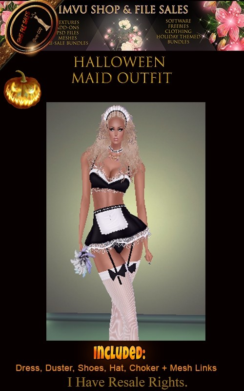 Halloween- Maid Outfit🎃
