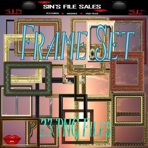 Frame Pack *Png Files