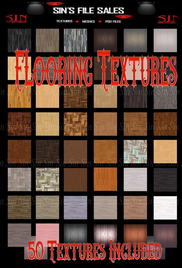 Flooring Textures * 50 Files