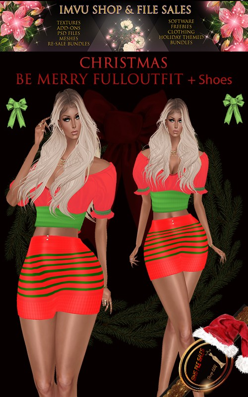 Be Merry Full Outfit Plus Shoes