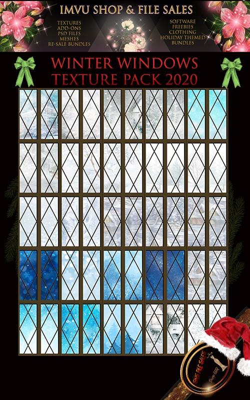 Winter Window Texture Pack 2020