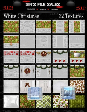 White Christmas Texture Pack