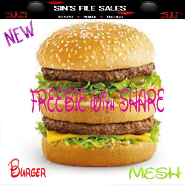 Free w/Share  MESH *Burger