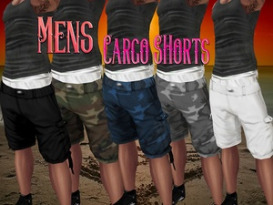 Mens Shorts* Dervi Link Included